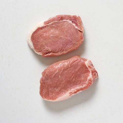 American Cut Pork Chops (Boneless, $17/lb)