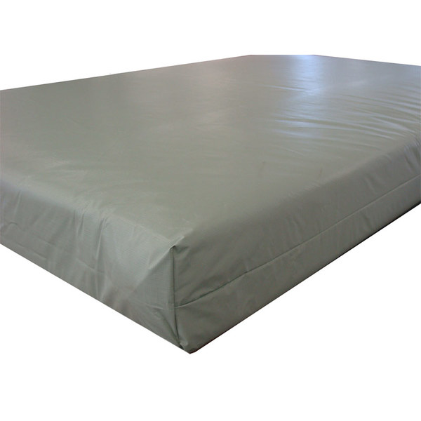Life Safety Inverted Seam Vinyl Mattress with Sleep Safe Vinyl Ticking - Twin