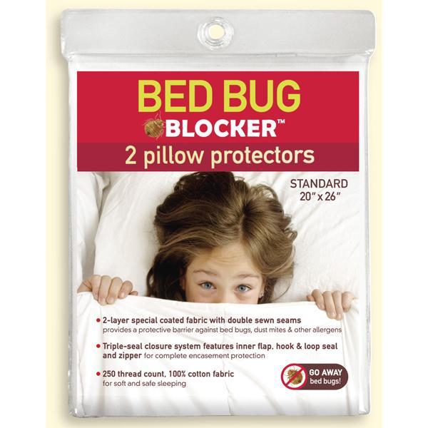Bed Bug Blocker Pillow Protectors (2)