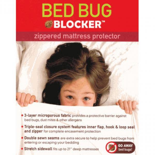 Bed Bug Blocker Zippered Mattress Protectors - Twin