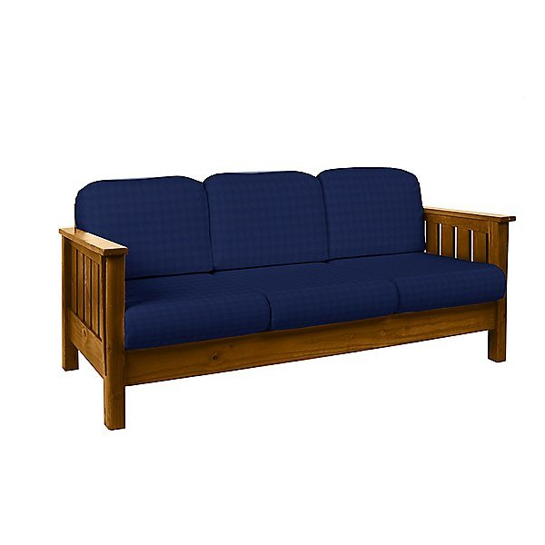 Artisan Sofa w/Overstuffed Backs