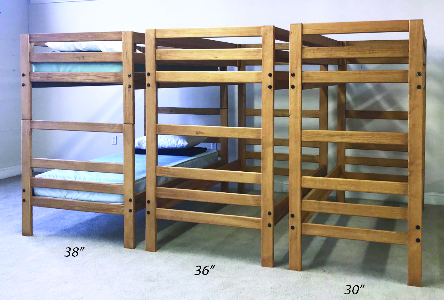Camp Bunk with 3 sizes
