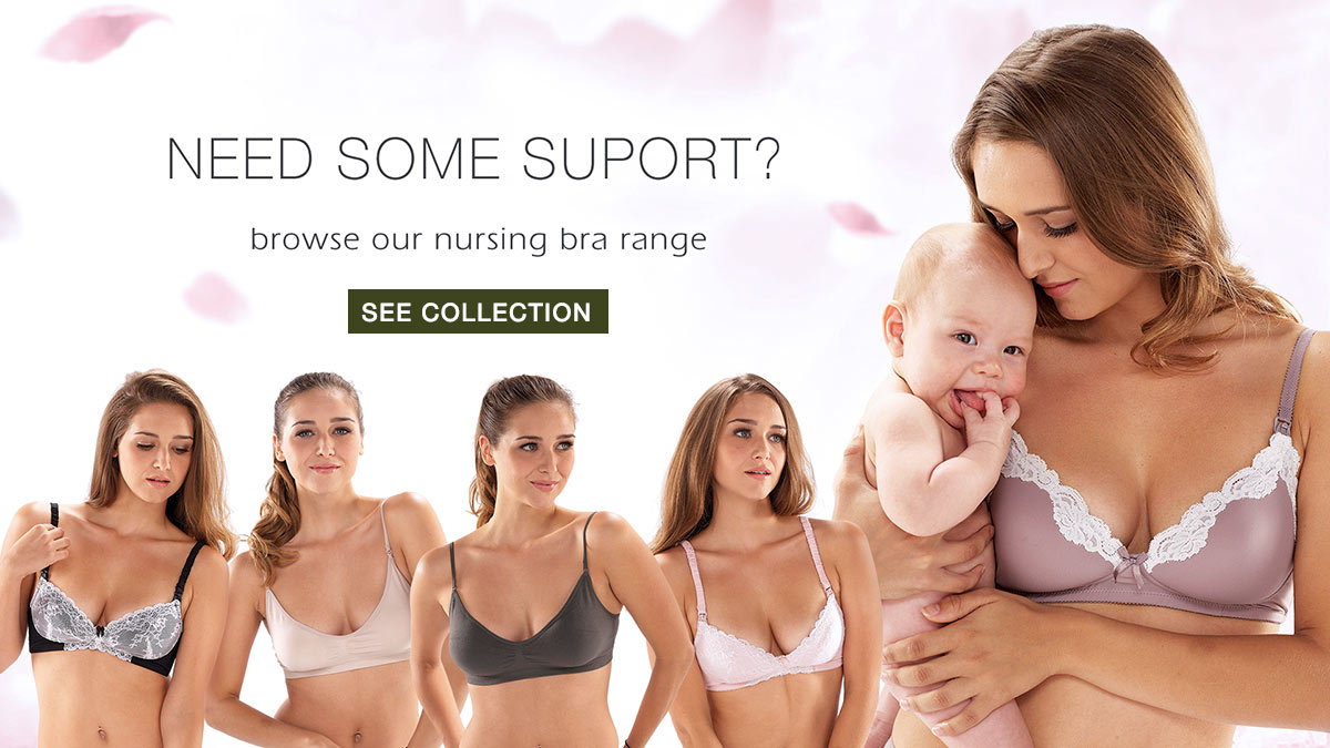 Collection of comfortable and quality nursing bras by Mothers en Vogue