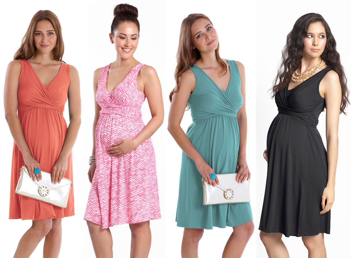 Maternity and Nursing Dress Collection by MEV