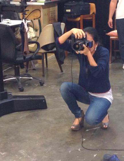 Sharon Ho-Norton, Mothers en Vogue at MEV's Photoshoot