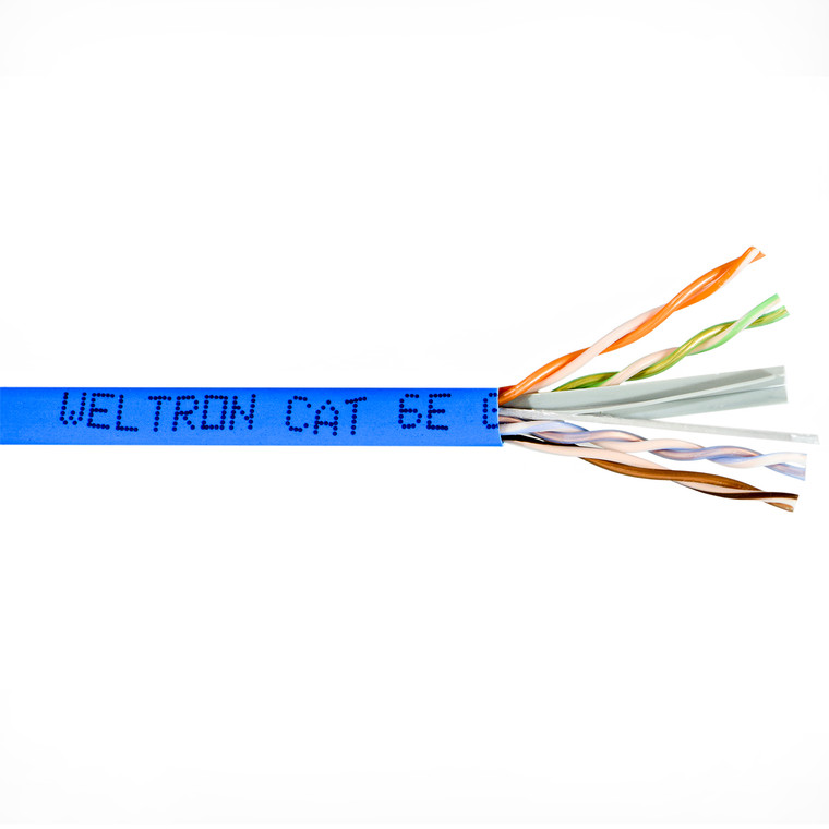 Category 6 UTP Solid Plenum Cable (1000ft)