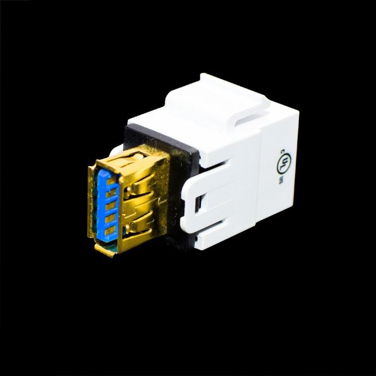 Weltron -  keystone USB A Insert  F/F