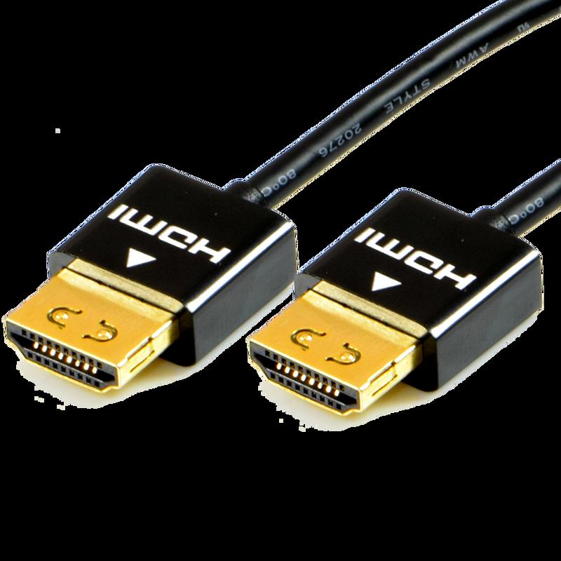 Low Profile HDMI Cables