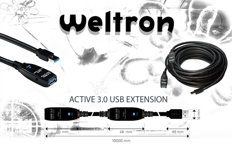 Active 3.0 USB Extension 10 Meter