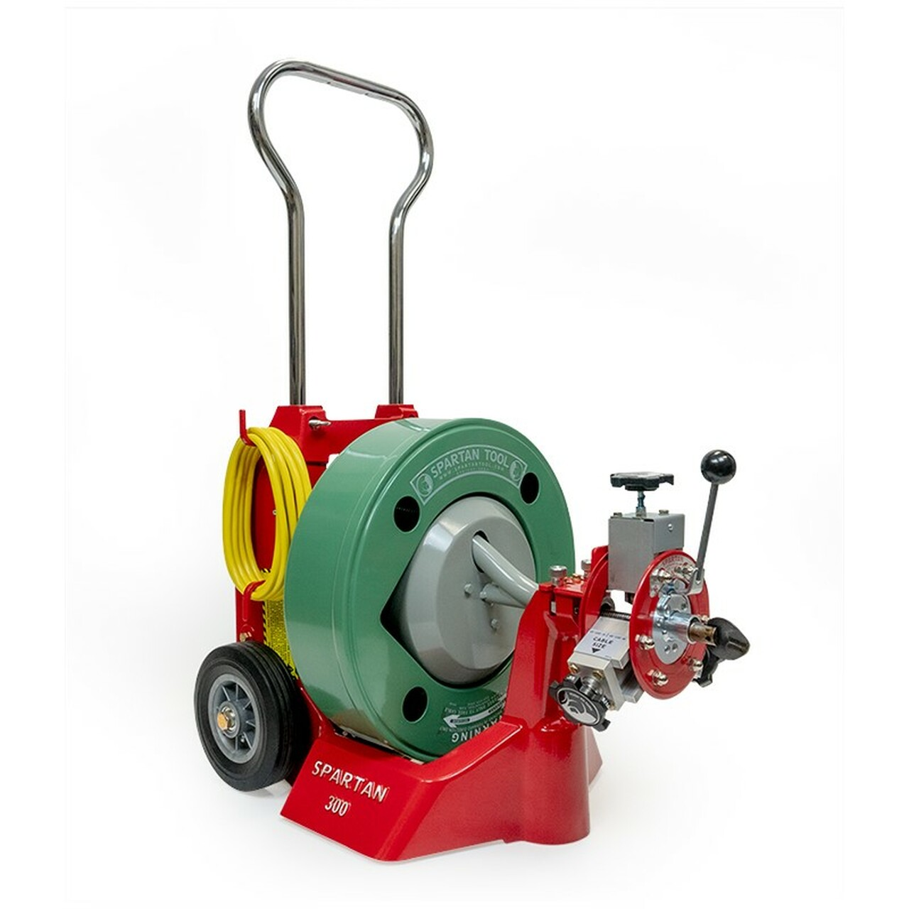 Spartan Tool Model 300 Drain Cleaning Machine - 04221458   Spartan 300 Sewer Machine Wire Diagram      Spartan Tool