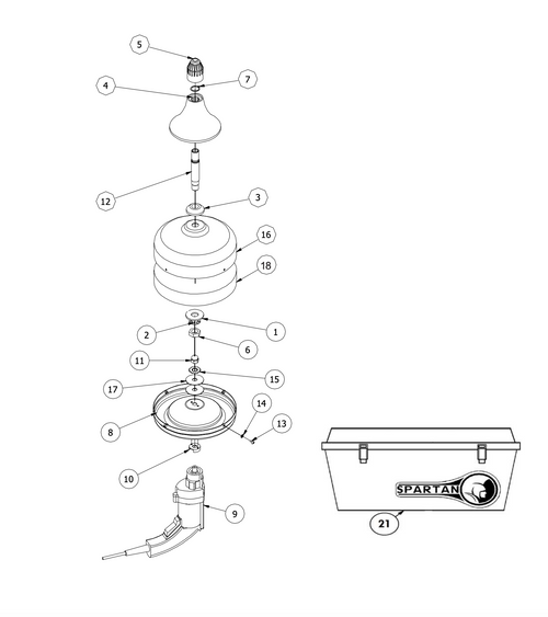 Spartan Tool Model 700 Drain Cleaning Machine - 02755308   Spartan 300 Sewer Machine Wire Diagram      Spartan Tool
