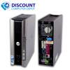 """FAST Dell Windows 10 Desktop Computer Core 2 Duo 4GB Ram DVD WiFi 19"""" Dell LCD"""