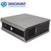 Dell Optiplex USFF Desktop Computer PC Core 2 Duo Windows 10 4GB 80GB DVD