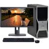 """Dell Precision T3400 Windows 10 Pro Workstation Computer Core 2 Duo 8gb 500gb 22"""" LCD"""