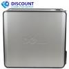 "FAST Dell Optiplex Windows 10 Desktop Computer Tower Core 2 Duo 4GB 160GB DVD WiFi 17"" LCD"