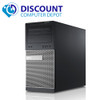 Dell Gaming Computer Tower Core i5 16GB 500GB HDD + SSD DVD Wifi Windows 10 PC Nvidia GT1030