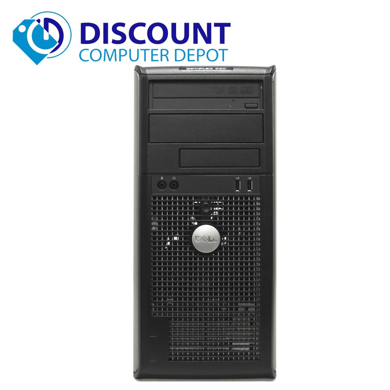 FAST Dell Optiplex 760 Windows 10 Desktop Computer Tower C2D 4GB DVD WiFi  17