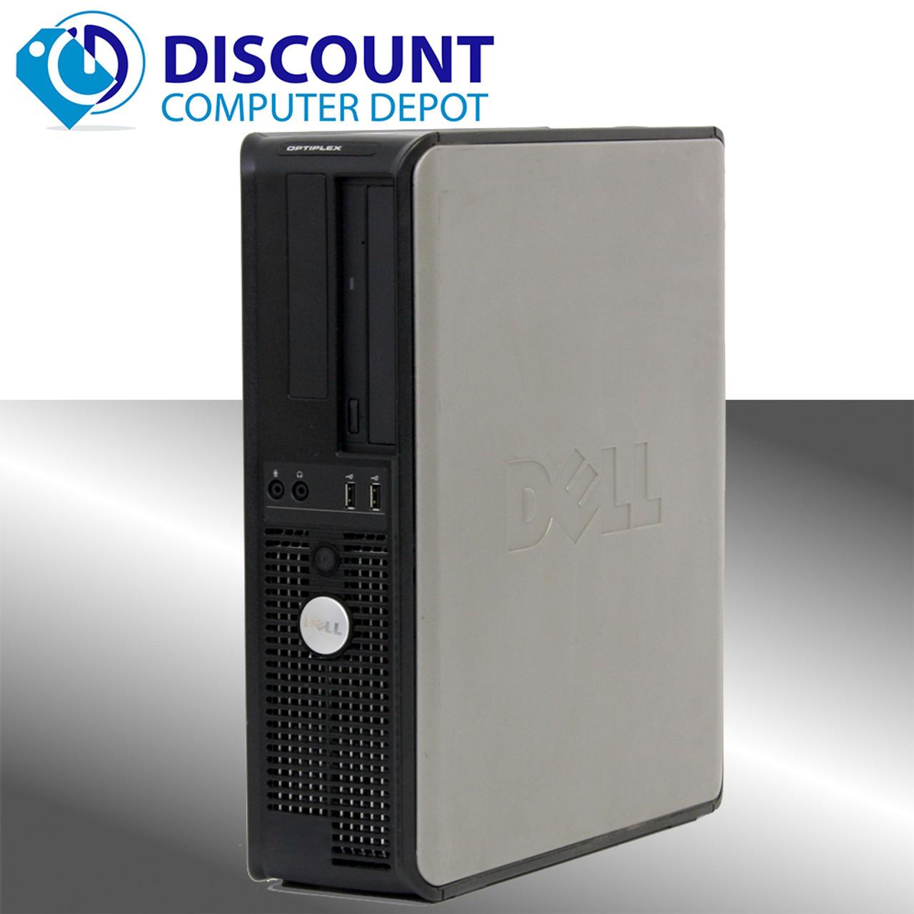 Astounding Fast Dell Optiplex Windows 10 Home Desktop Computer Dual Core 6Gb 160Gb Dvd Wifi Home Interior And Landscaping Palasignezvosmurscom