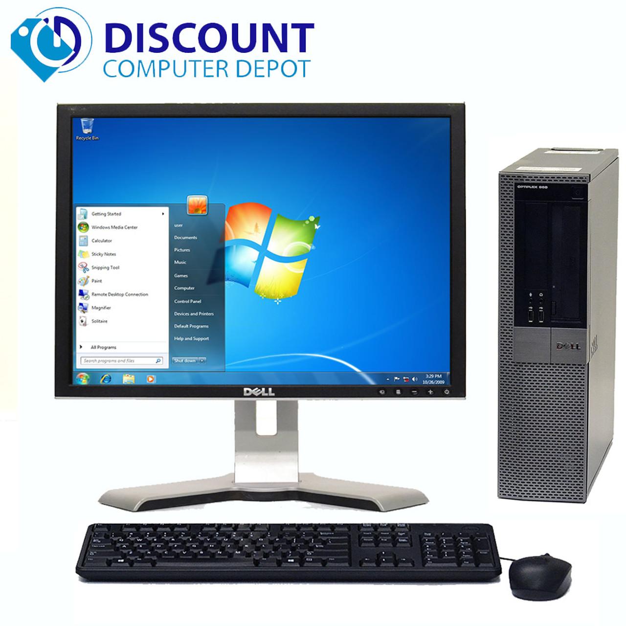 Dell Optiplex 960 Windows 10 Pro Desktop 3 0GHz Core 2 Duo 8GB 1TB 22