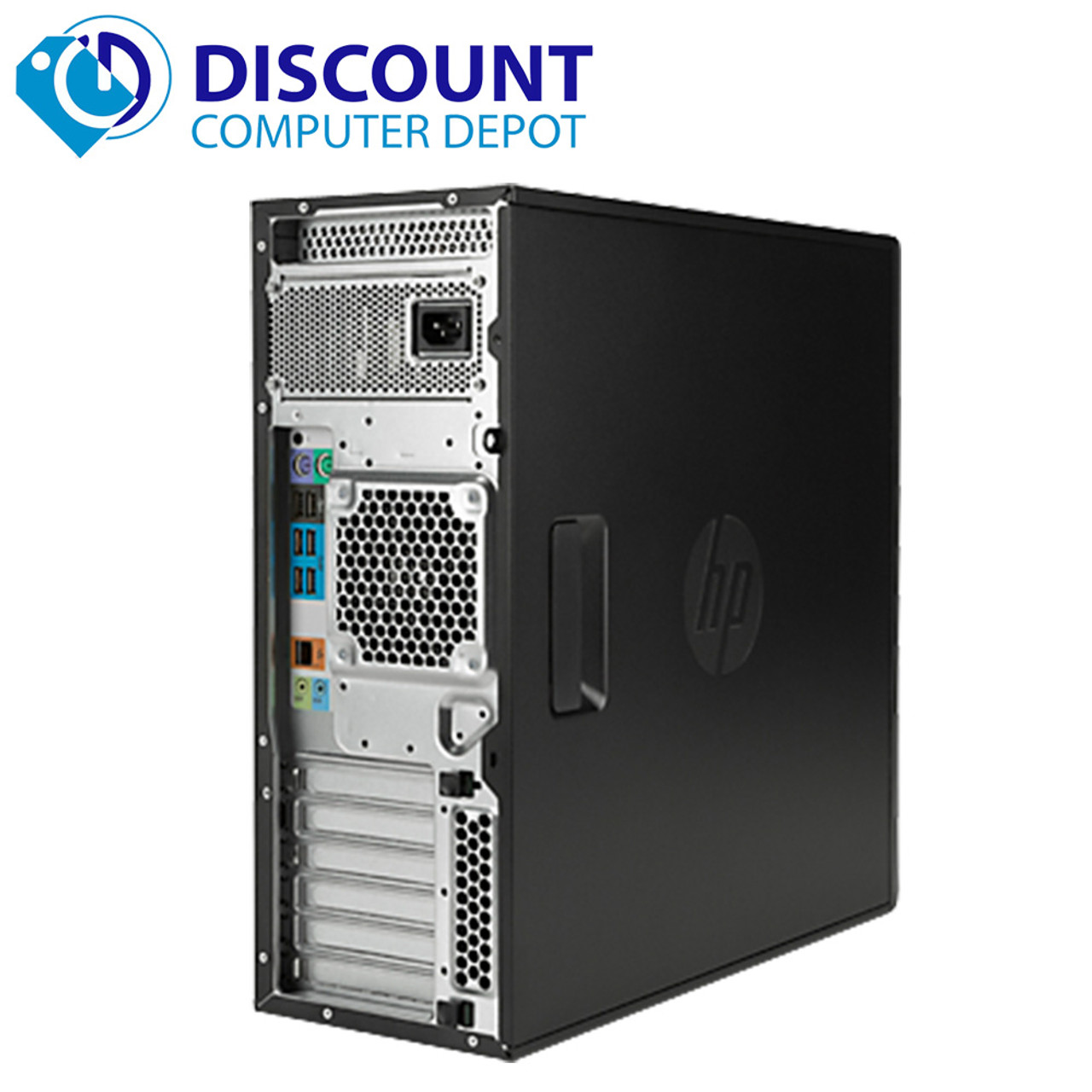 HP Z400 Workstation Desktop Computer PC Intel Xeon 2 53GHZ 8GB 1TB Windows  10 Pro with Dedicated Graphics and WIFI