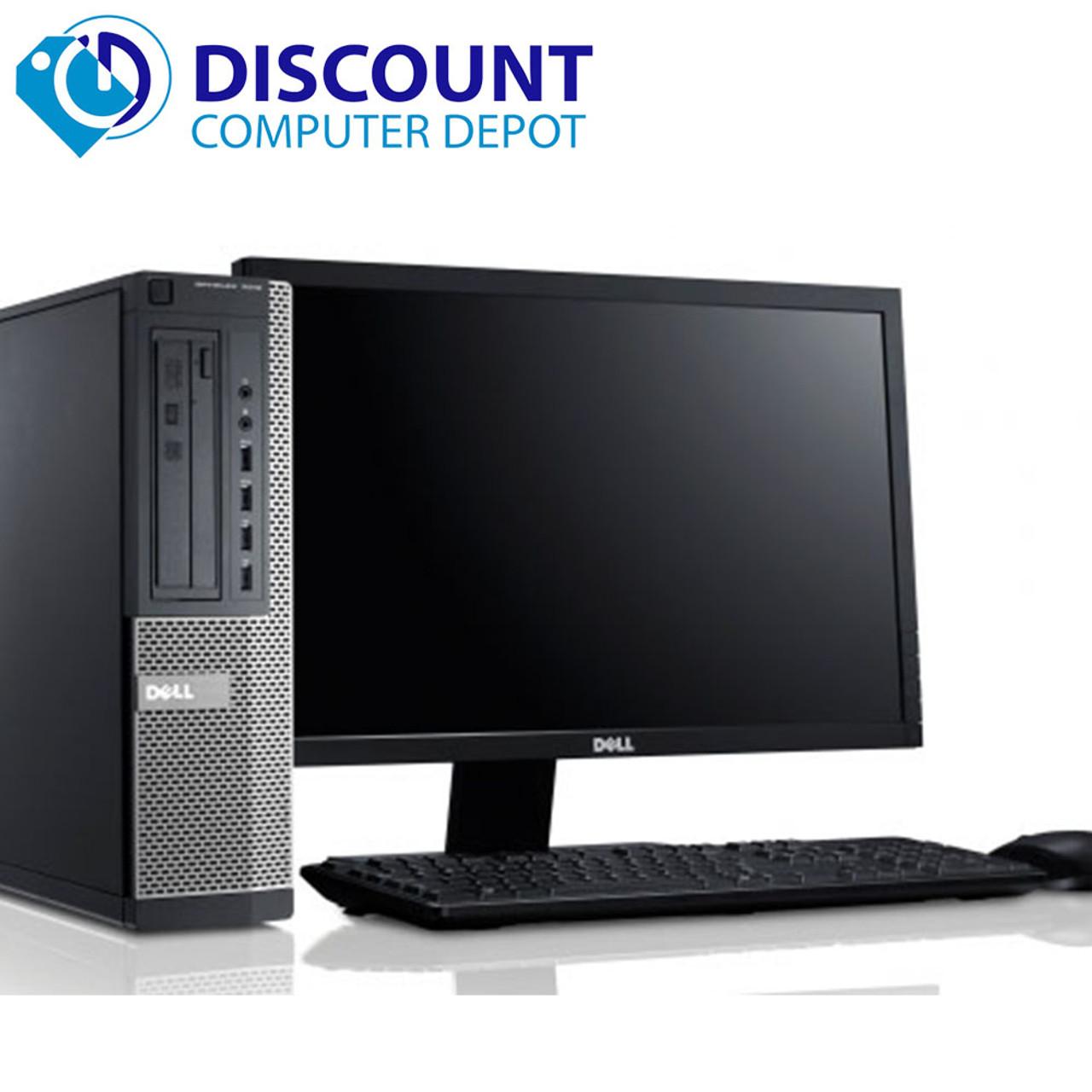 Dell Optiplex 3010 Desktop Quad Core I5-3470 3 2GHz 4GB 500GB DVD-RW  Windows 10 w/22