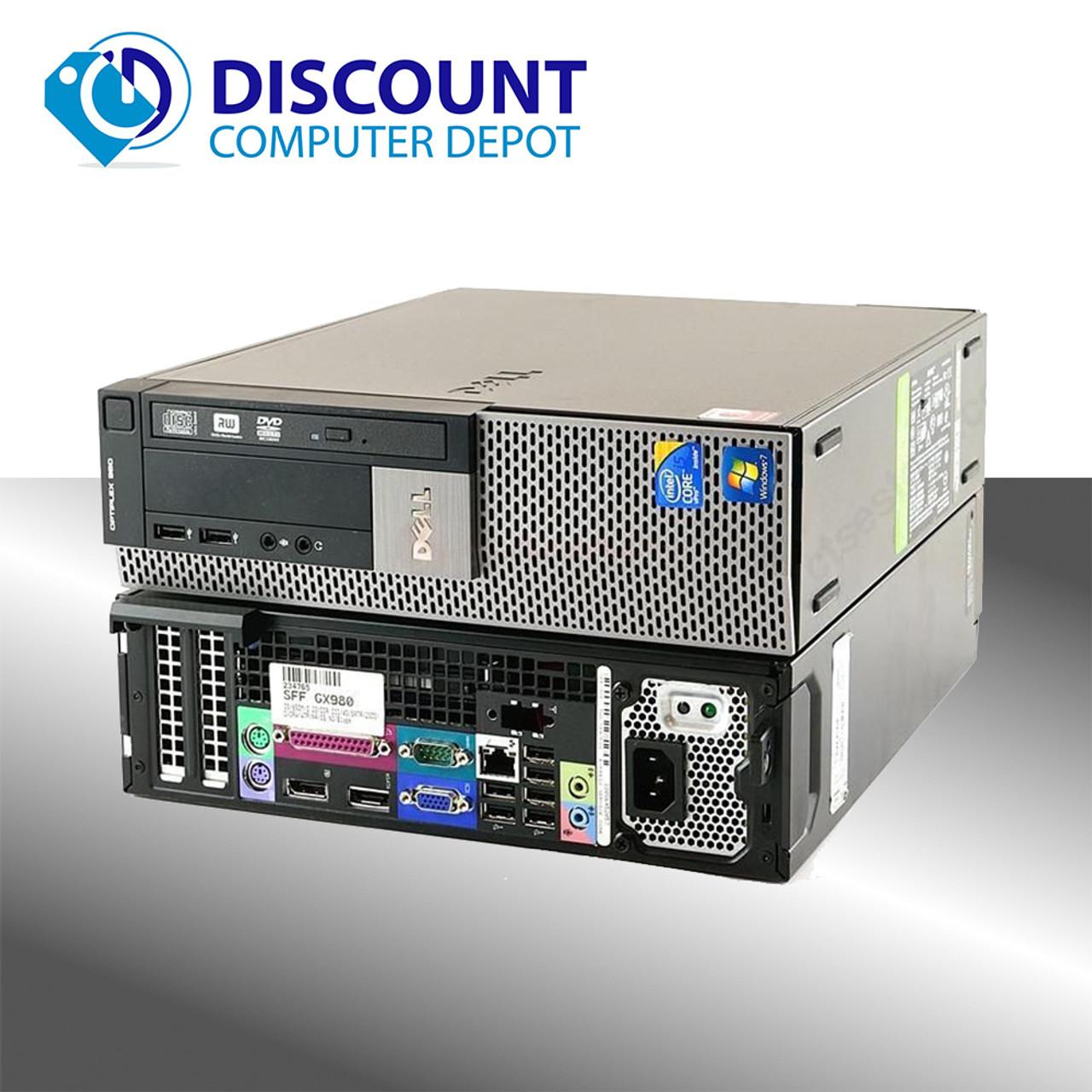 Dell Optiplex 980 Desktop Computer I5-660 3 3GHz 4GB 500GB Windows 10 Home  WiFi