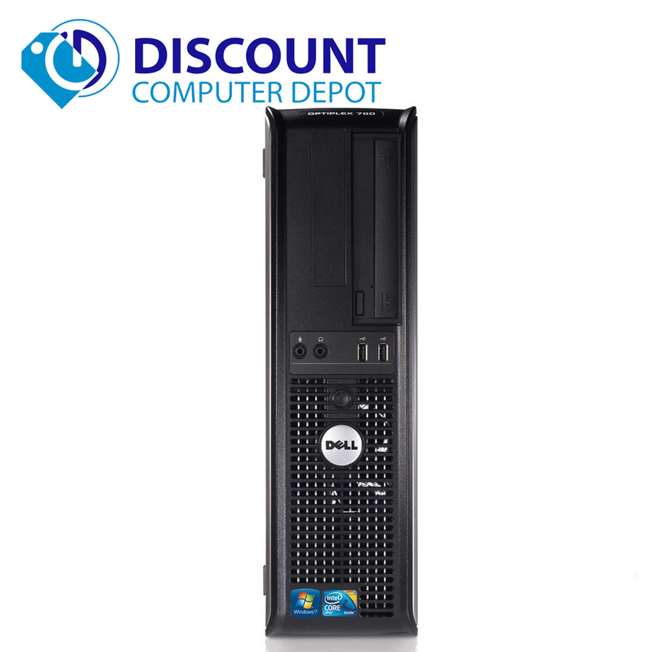 Dell Optiplex 780 Windows 10 Pro Desktop Computer PC Core 2 Duo 2 93GHz 8GB  1TB and WIFI