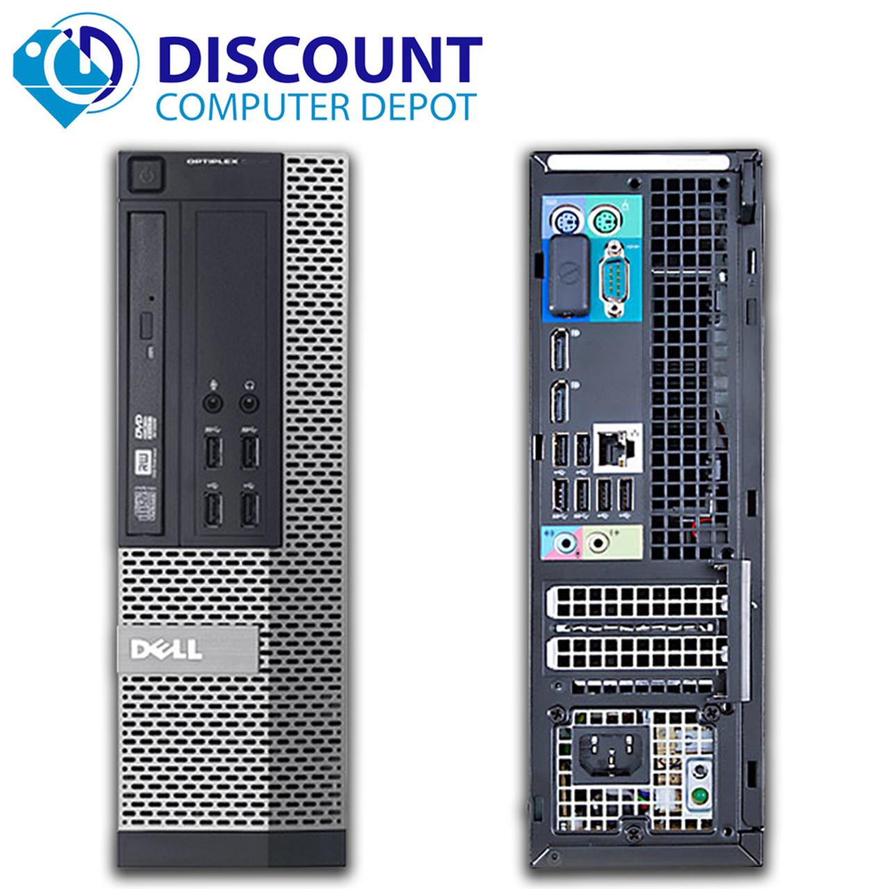 Dell Optiplex 990 Windows 10 Pro Desktop Computer SFF Quad i5 3 1GHz 16GB  1TB and WIFI