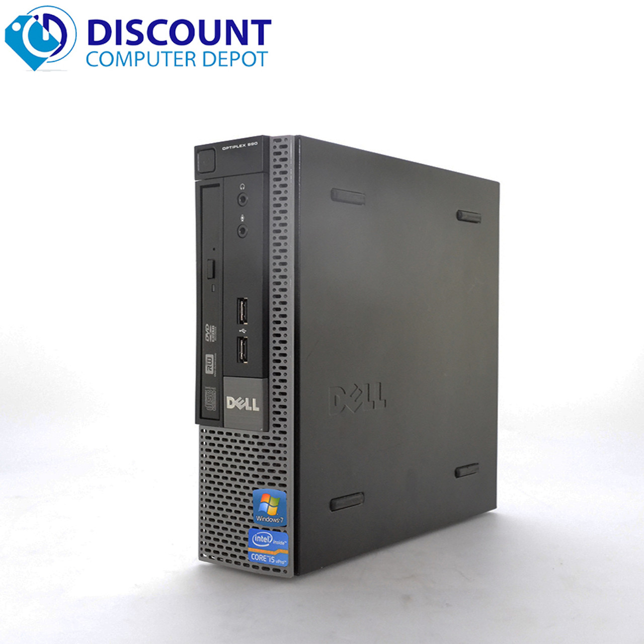 Dell Optiplex 990 USFF Desktop PC Computer Windows 10 Core i5 4GB 250GB WiFi
