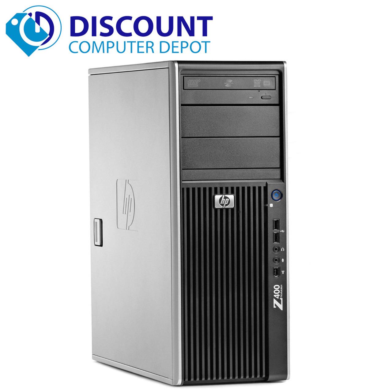 HP Z420 Workstation Desktop Computer PC Intel Xeon 2 8GHZ 8GB 1TB Win10 Pro  and WIFI