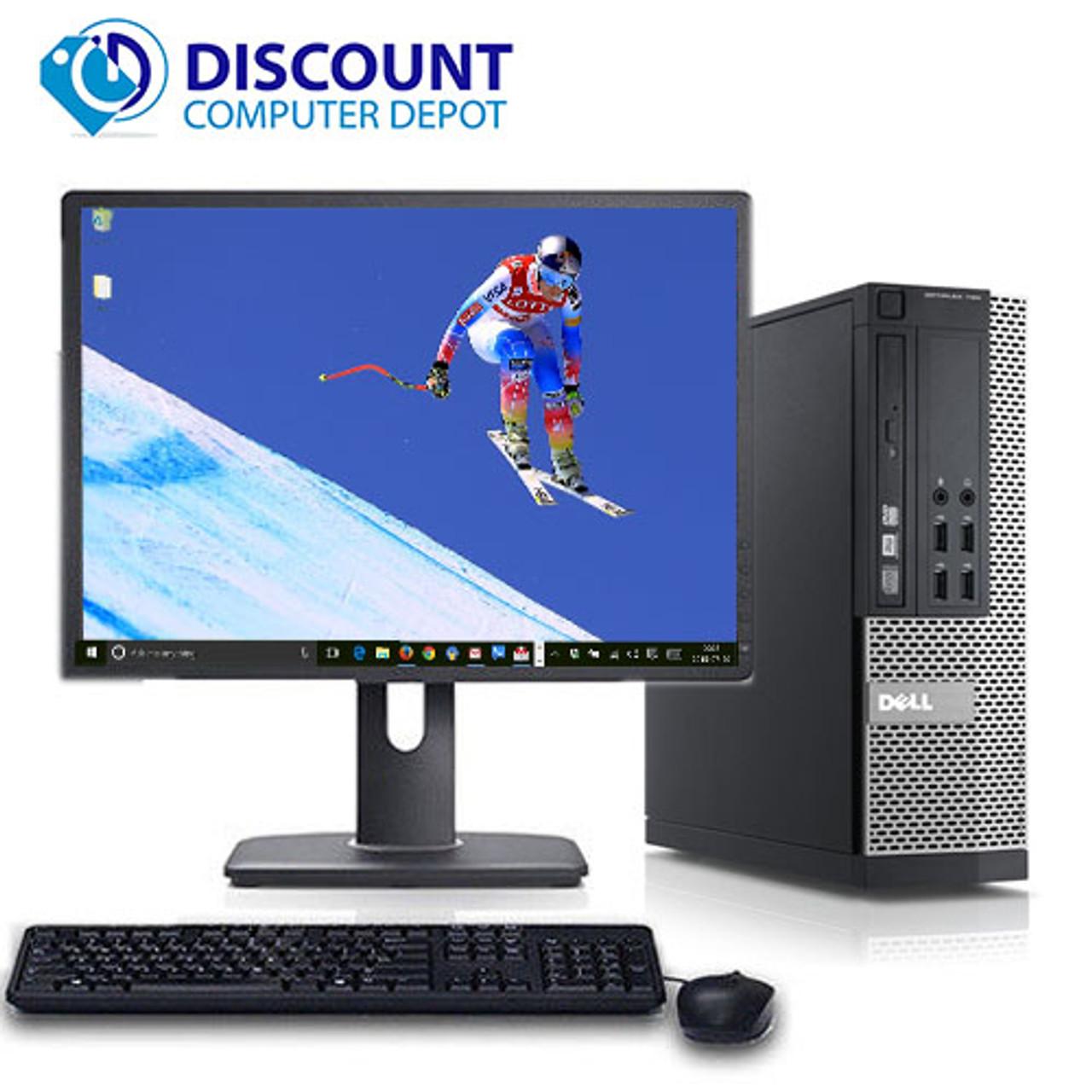 Dell Optiplex Desktop Computer PC Core i5 8GB 1TB Windows 10 Pro w/19