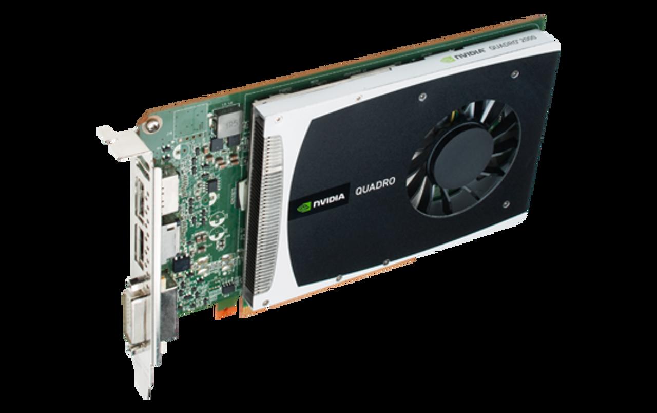 Dell 2PNXF Nvidia Quadro 2000 1GB GDDR5 PCI-e DVI Dual DisplayPort Video Card