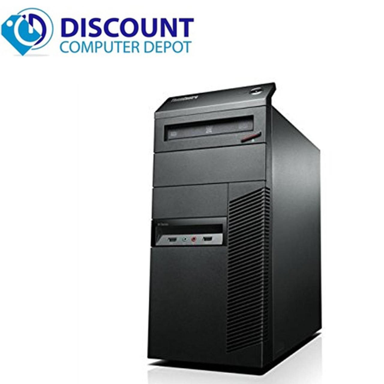 Fast Lenovo M92P Windows 10 Desktop Computer Core i5 Tower 3 2GHz PC 8GB  500GB WIFI