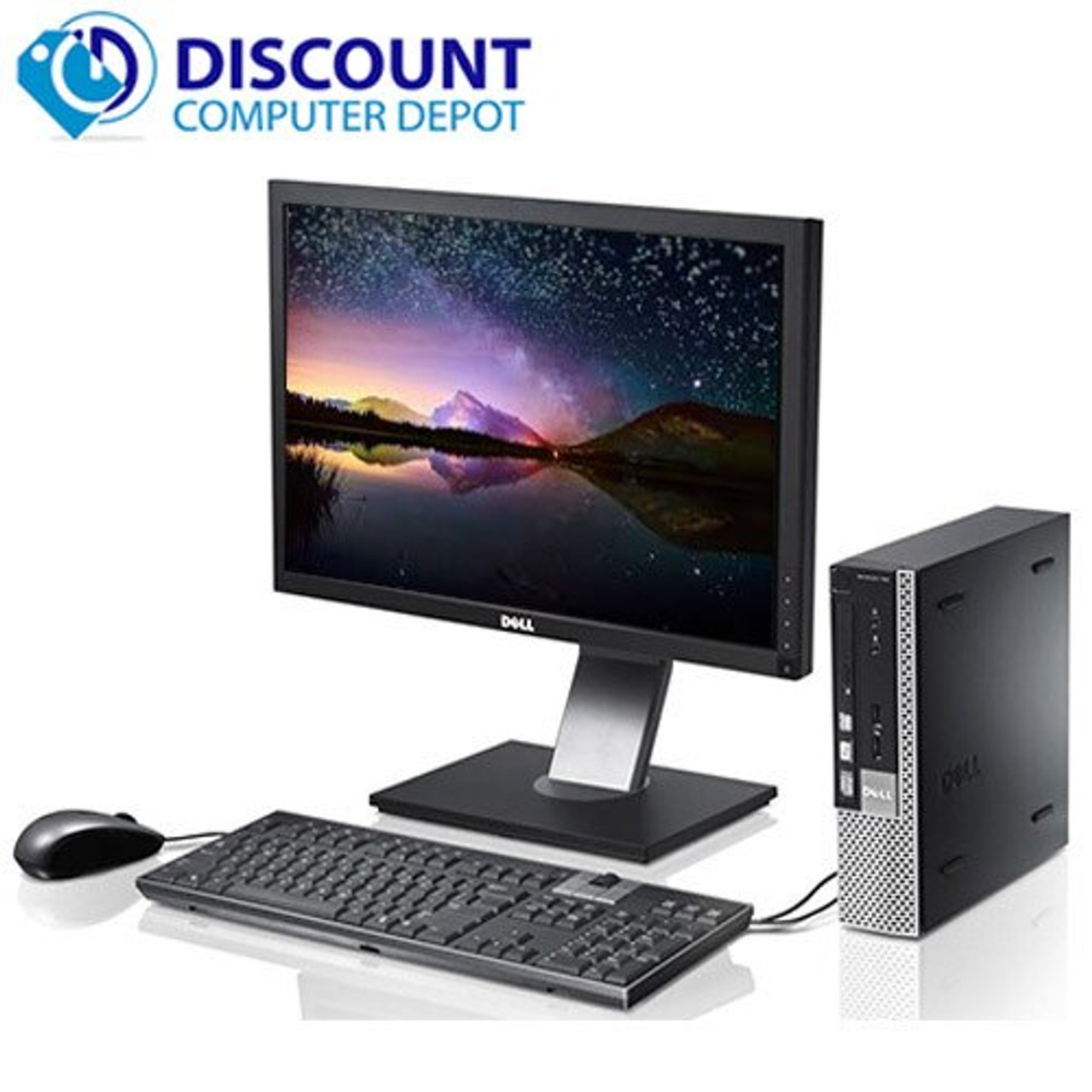 Phenomenal Fast And Dependable Dell Desktop Intel Core I5 Processor 8Gb Ram 500Gb Hdd Wifi Windows 10 With 22 Monitor Download Free Architecture Designs Terchretrmadebymaigaardcom