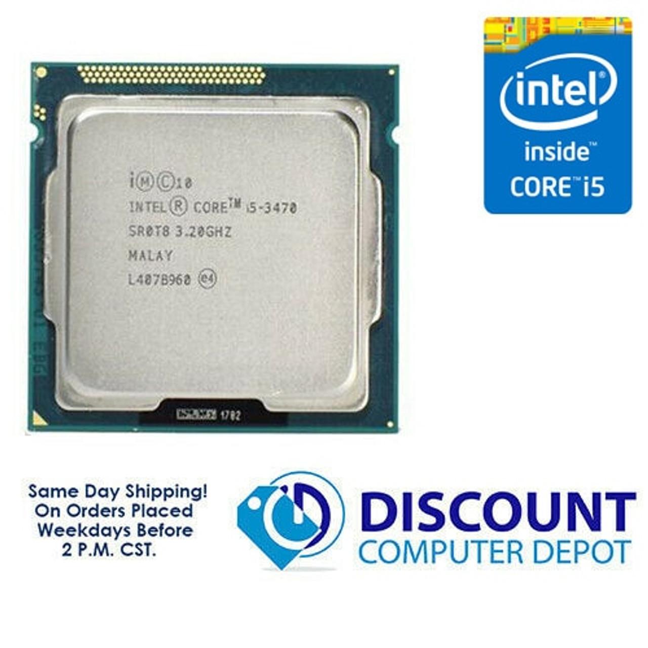 Intel Core i5-3470 3.20GHz Quad-Core CPU Computer Processor LGA1155 Socket SR0T8