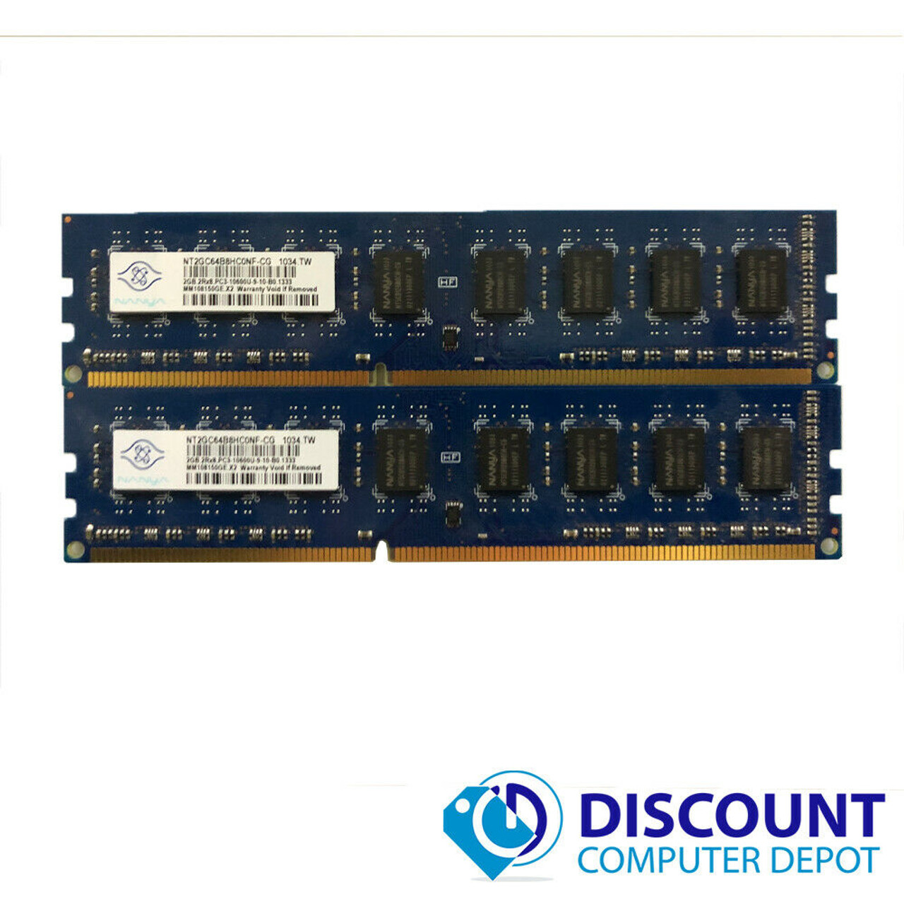 Server Memory RAM REG ECC 8GB 2X4GB DDR3 1333MHZ PC3-10600 for Micron