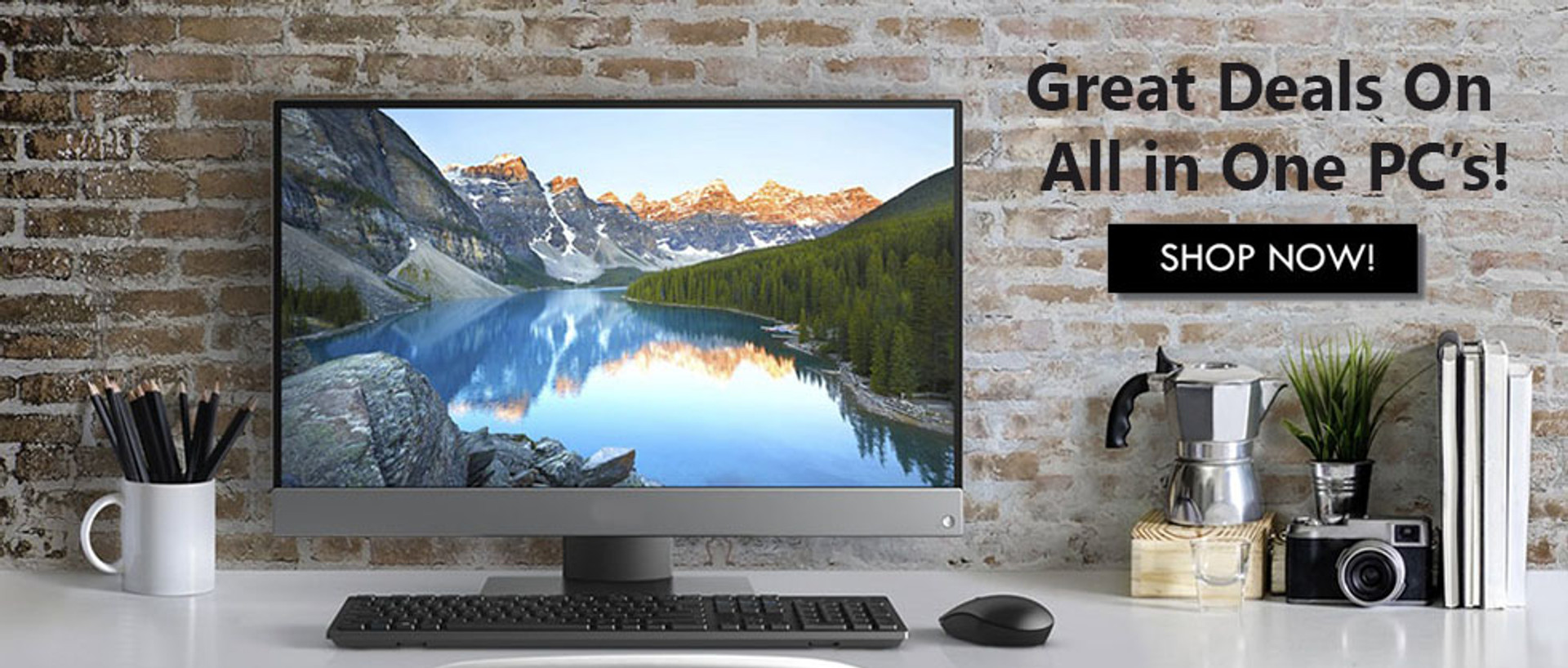 Great Deals On All In One PCs!