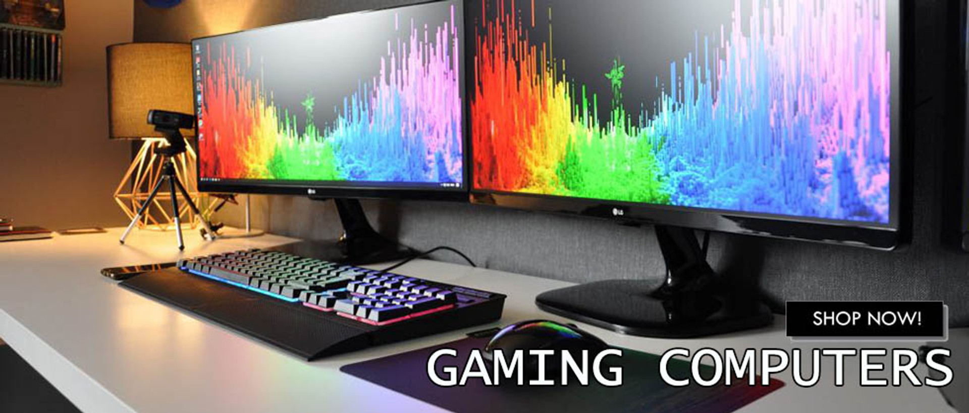 Gaming Computers For Sale Now!