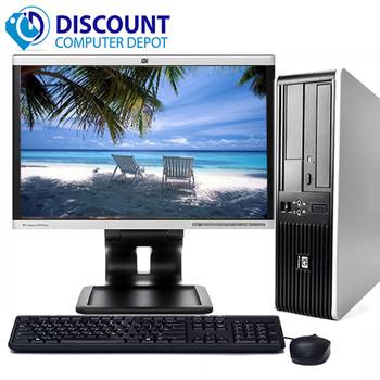 Fast HP Desktop Computer Windows 10 PC Dual Core 3.06GHz 4GB DVD WiFi