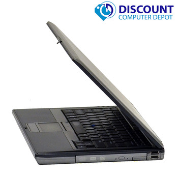 "Fast Dell Latitude 14"" Windows 10 Laptop Computer 1.8GHZ Core 2 Duo 2GB 80GB HDD DVD WiFi"