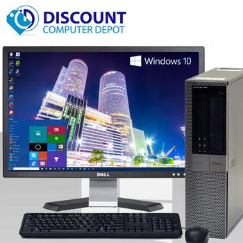 "Dell Optiplex 960 Windows 10 Pro Desktop Computer 3.0GHz C2D 8GB 250GB 19"" LCD"