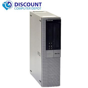 "Dell Optiplex 960 Windows 10 Desktop Computer PC 3.0GHz C2D 8GB 500GB 19"" LCD"