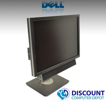 """Dell 19"""" LCD Monitor Ultrasharp Widescreen 1909W W/Dell Soundbar, Power Cable and VGA Cable"""