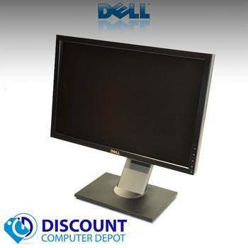 Dell 19 Inch Ultrasharp 1909W Widescreen LCD Monitor with VGA and Power Cables (Lot of 10 LCD Monitors)