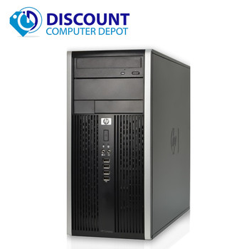 HP 6000 Pro Desktop Computer Tower PC Intel C2D 3.0GHz 4GB 250 DVD-RW Windows 10