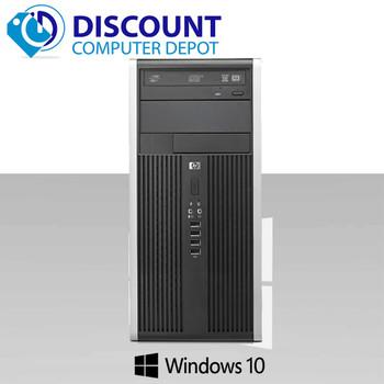 HP Pro 6300 Tower Desktop Computer Windows 10 Intel I5 3.2GHz 8GB 1TB