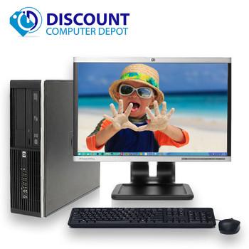 Fast HP Windows 10 Pro Desktop Computer PC DC 8GB 1TB Wifi 19