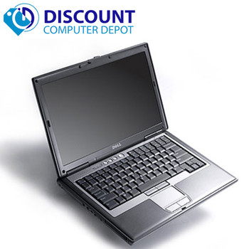 "Dell Latitude  D830 15.4"" Laptop Computer 4GB 160GB Windows 10 DVD Wifi"