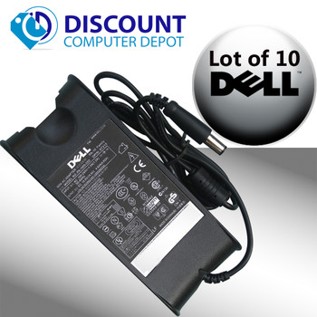 Lot of 10 Genuine Dell PA-10 90 Watt Power Adapter Laptop Chargers