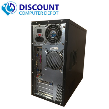 Custom Desktop Computer Intel I3-2100 3.1GHz 4GB 320GB Windows 10